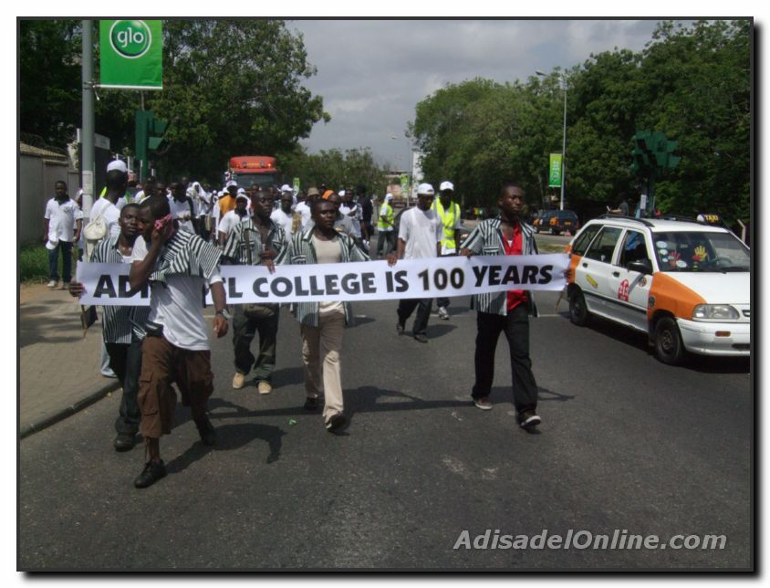 The Adisadel Centenary Road Show